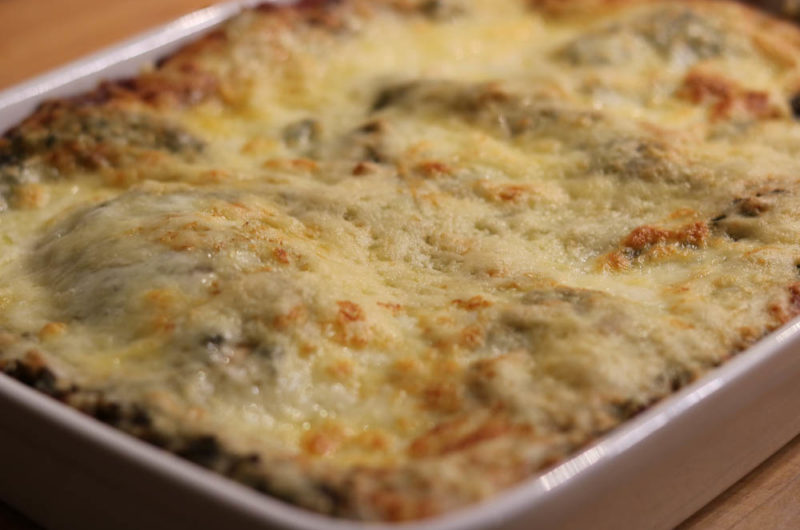 Grünkohl Lasagne