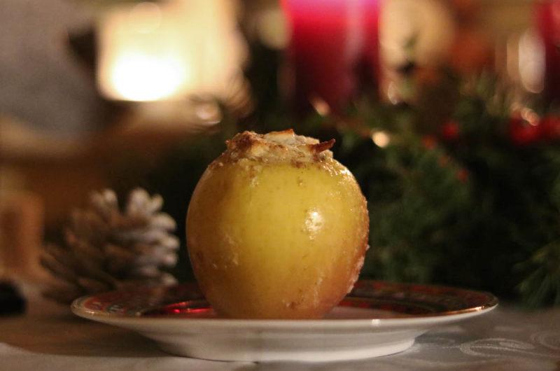 Bratäpfel mit Marzipan-Amaretto Füllung